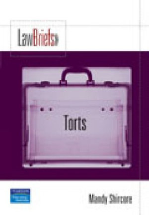 Cover of Law Brief Torts