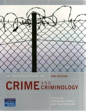Cover of An Introduction to Crime and Criminology