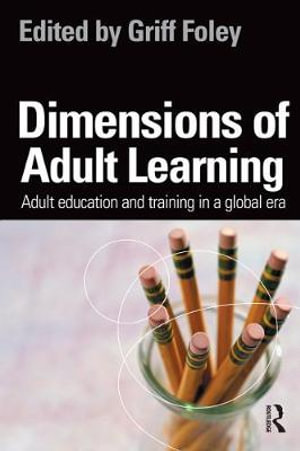 Cover of Dimensions of Adult Learning