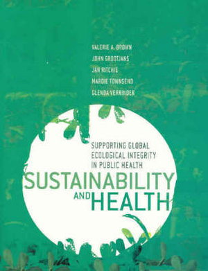 Cover of Sustainability and Health