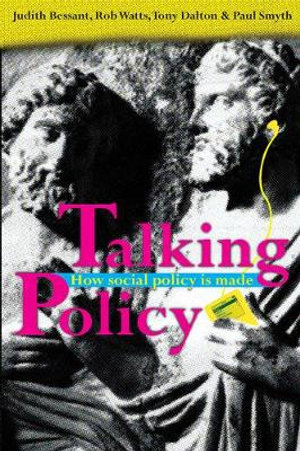Cover of Talking Policy How social policy is made