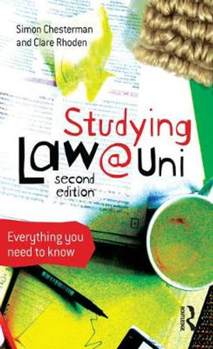 Cover of Studying Law at University Everything you need to know
