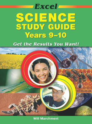 Cover of Excel Science Study Guide Years 9-10