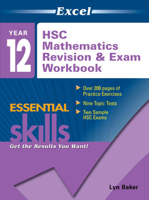 Cover of HSC Mathematics Revision & Exam Workbook