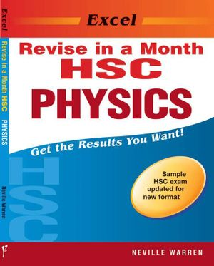 Cover of Excel RIAM HSC Physics Yr 12
