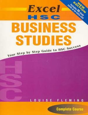 Cover of Excel HSC Business Studies + Cards SG