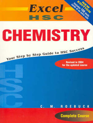 Cover of Excel HSC Chemistry + Cards SG
