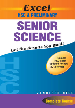 Cover of Excel HSC & Preliminary Senior Science