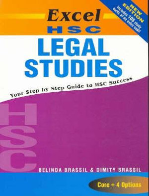 Cover of Excel HSC Legal Studies + Cards SG