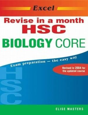 Cover of Excel Revise in a Month HSC Biology