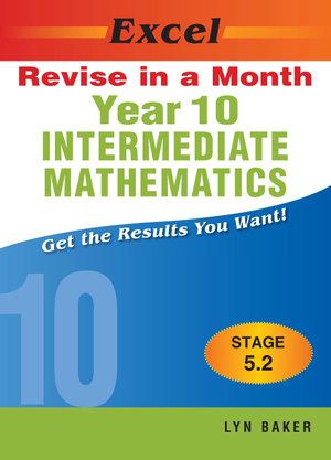 Cover of Year Ten Intermediate Mathematics
