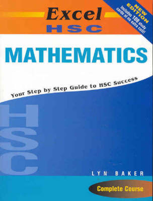Cover of Excel HSC Mathematics + Cards SG
