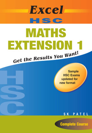 Cover of Excel HSC Maths Ext 1 + Cards SG