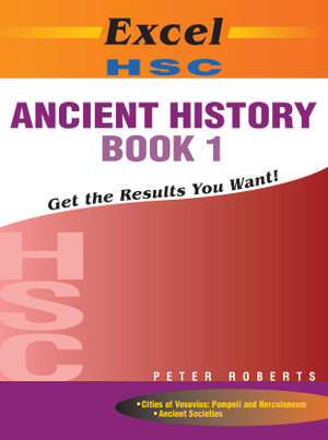 Cover of Excel HSC Ancient Hist Bk 1 + Cards SG