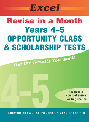 Cover of Years 4-5 Opportunity Class & Scholarship Tests