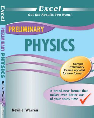 Cover of Excel Preliminary Physics