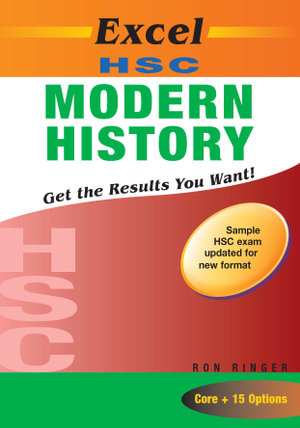 Cover of Excel HSC Modern History + Cards SG