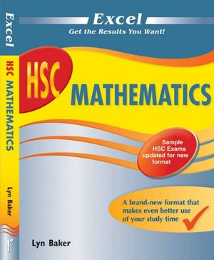 Cover of Excel HSC Mathematics