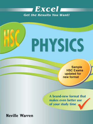 Cover of Excel HSC Physics New Edition