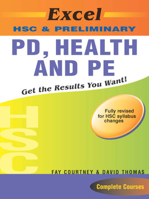 Cover of Excel HSC & preliminary personal development, health and physical education