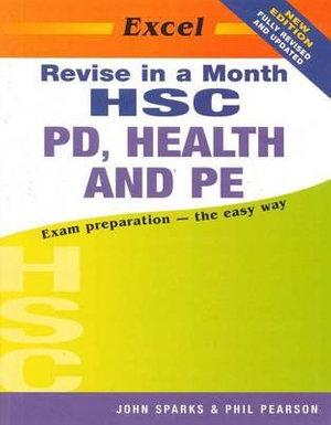 Cover of Excel HSC PD, Health & PE