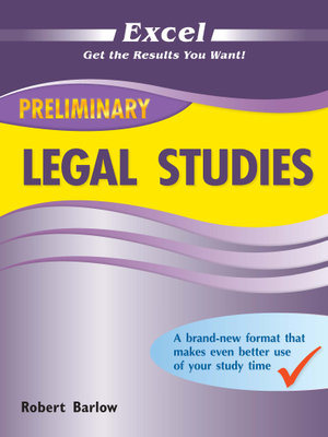 Cover of Preliminary Legal Studies