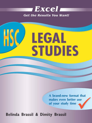Cover of Excel HSC Legal Studies