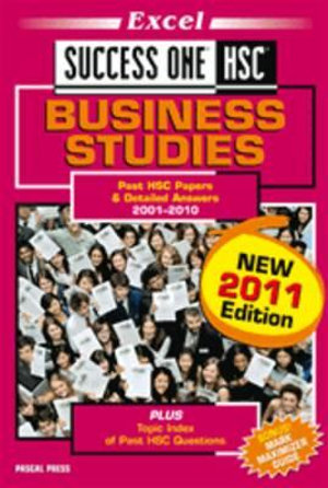 Cover of Success One HSC Business Studies
