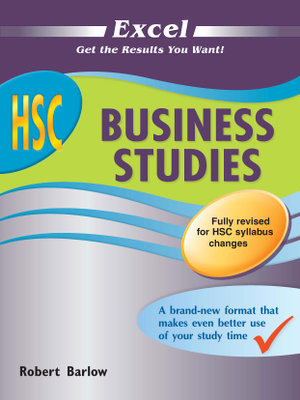 Cover of Excel HSC Business Studies