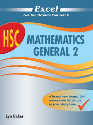 Cover of Excel HSC Mathematics General 2