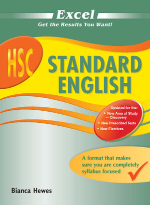 Cover of Excel HSC Standard English
