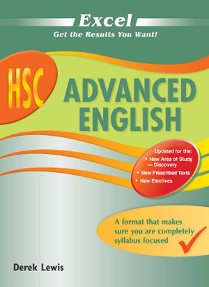Cover of Excel HSC Advanced English