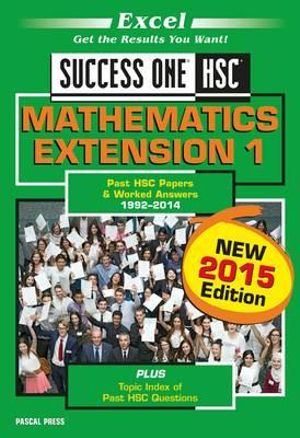Cover of Success One Mathematics Ext1
