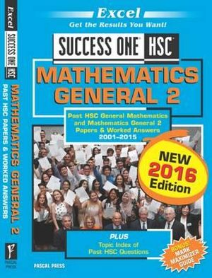 Cover of Success One General Mathematics