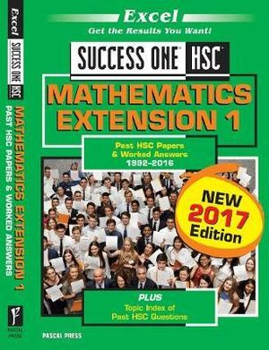 Cover of Success One Mathematics Ext 1