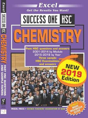 Cover of Excel Success One HSC Chemistry