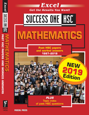 Cover of Excel Success One HSC Mathematics