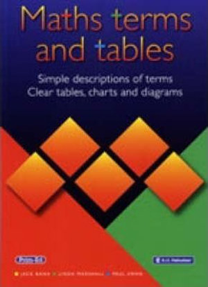 Cover of Maths Terms and Tables