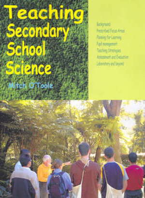 Cover of Teaching Secondary School Science