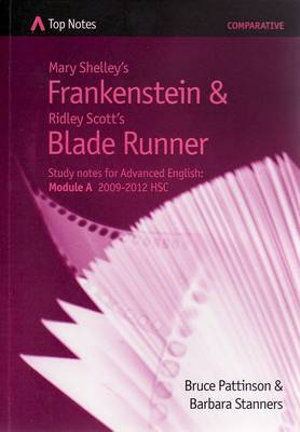 Cover of Mary Shelley's Frankenstein and Ridley Scott's Blade Runner