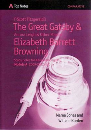 Cover of F Scott Fitzgerald's The Great Gatsby and Aurora Leigh and Other Poems