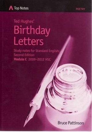 Cover of Ted Hughes' Birthday Letters