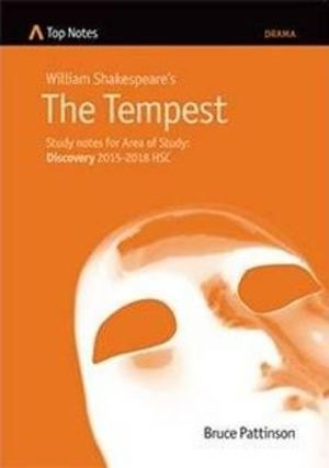 Cover of William Shakespeare's The Tempest