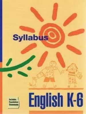 Cover of English K-6 Syllabus