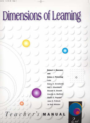 Cover of Dimensions of Learning