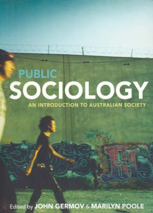 Cover of Public Sociology An introduction to Australian society
