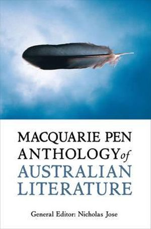 Cover of Macquarie PEN Anthology of Australian Literature