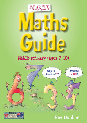 Cover of Blake's Maths Guide for Middle Primary Students