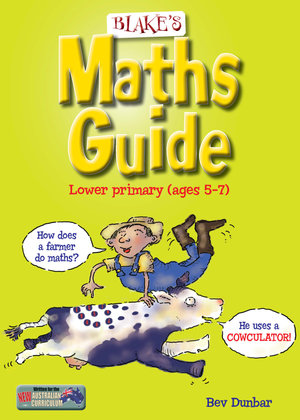 Cover of Blake's Maths Guide for Lower Primary Students