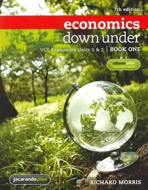 Cover of Economics Down Under